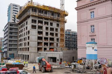 Priebeh výstavby 10/2021 - Danubius One